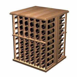 Designer Series 108 Bottle Floor Wine Rack by Wine Cellar Innovations
