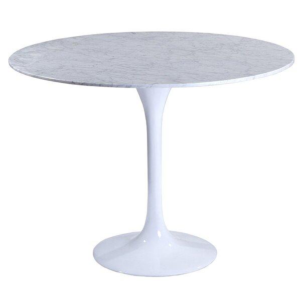 Berkhamstead Marble Dining Table by Orren Ellis