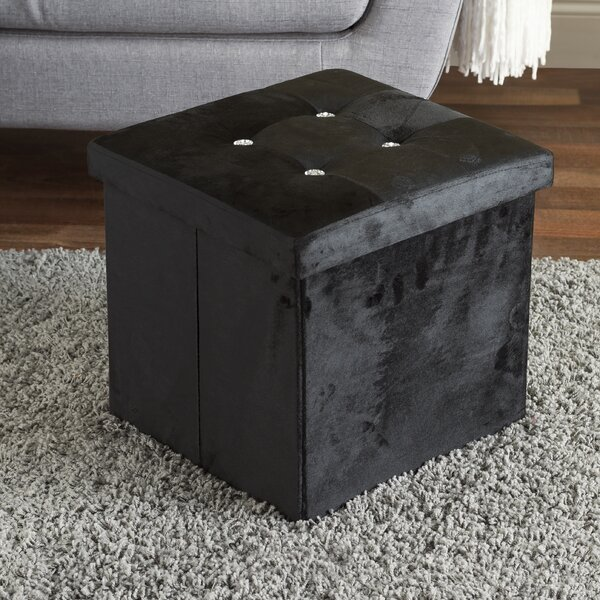 Cube Ottoman by Home Basics