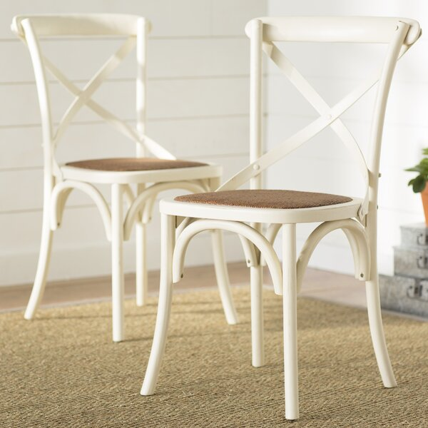 Carterville Solid Wood Dining Chair (Set of 2) by Greyleigh