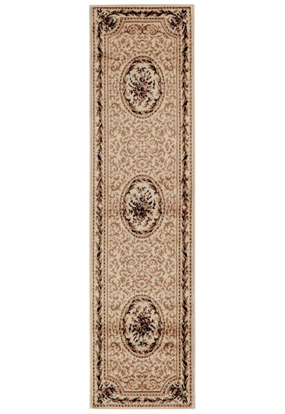 Navarra Rose Garden Ivory Area Rug by Astoria Grand