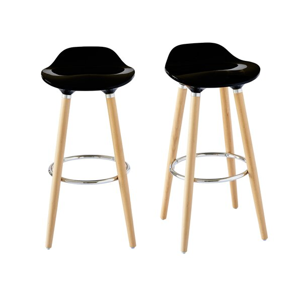 Colne Low Back 29 Bar Stool (Set of 2) by Ebern Designs