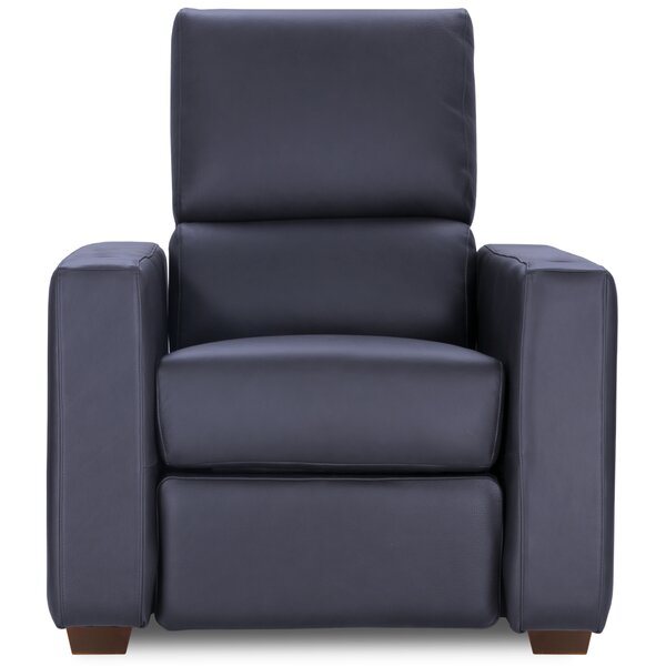 Leather Home Theater Individual Seating By Latitude Run
