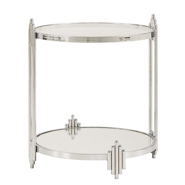 Johnny End Table By Everly Quinn