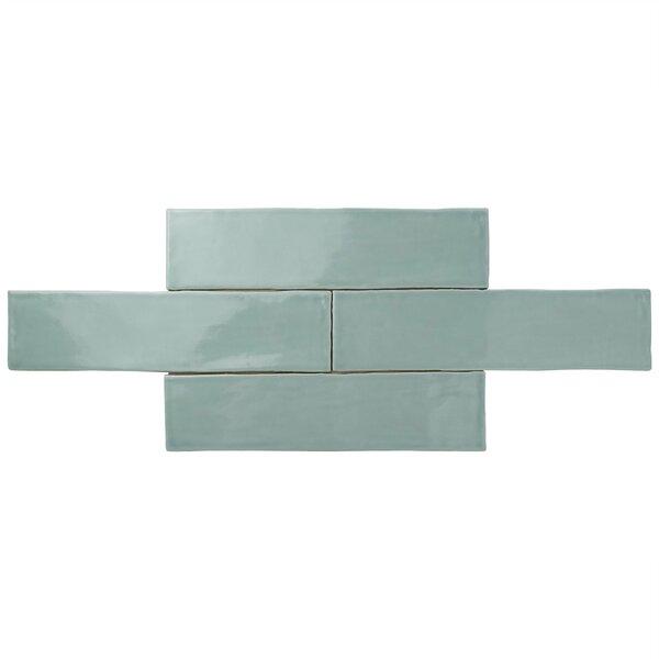 Tivoli 3 x 12 Ceramic Field Tile in Light Blue by EliteTile