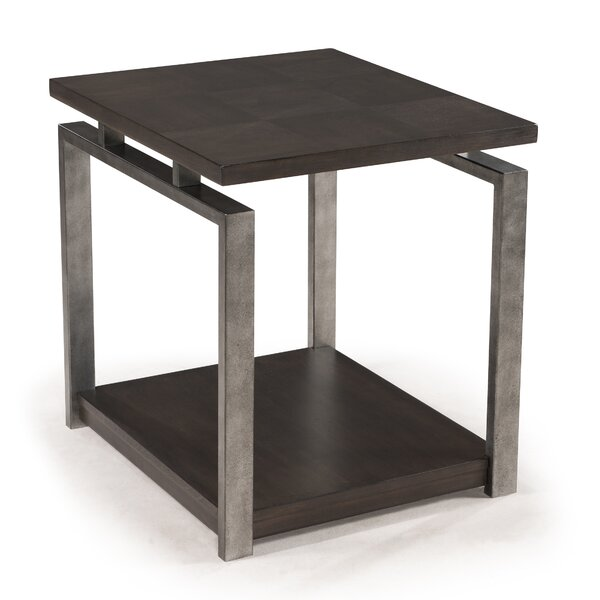 Charlaine End Table by Williston Forge