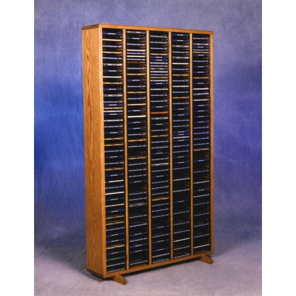 400 Series 400 CD Multimedia Storage Rack by Wood Shed