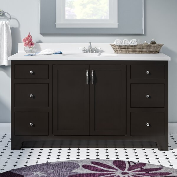 Steubenville 2-Door 49 Single Bathroom Vanity by Andover Mills