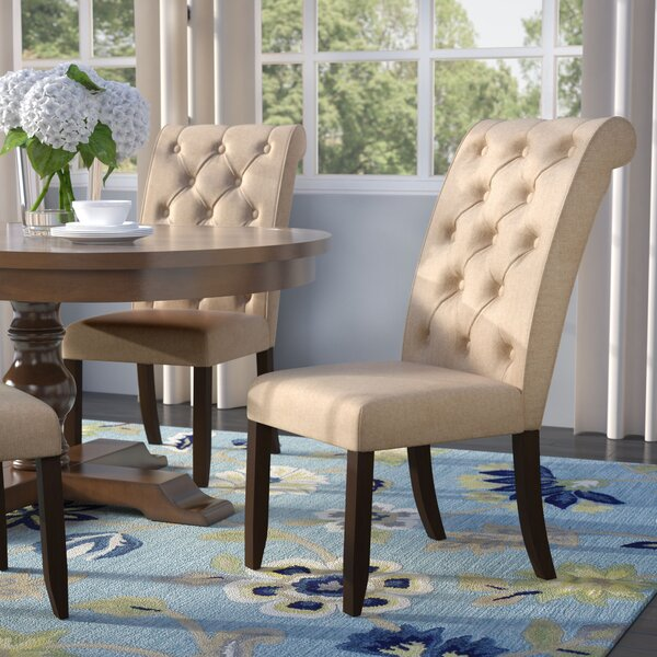 Lapeer Upholstered Dining Chair (Set of 2) by Darby Home Co