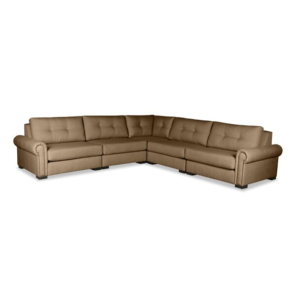 Willia Plush Deep Modular Sectional by Three Posts