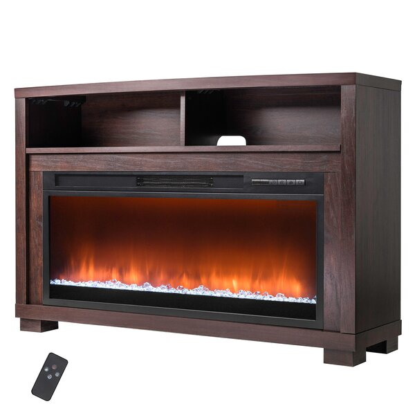 Wood Mantel Electric Fireplace by AKDY