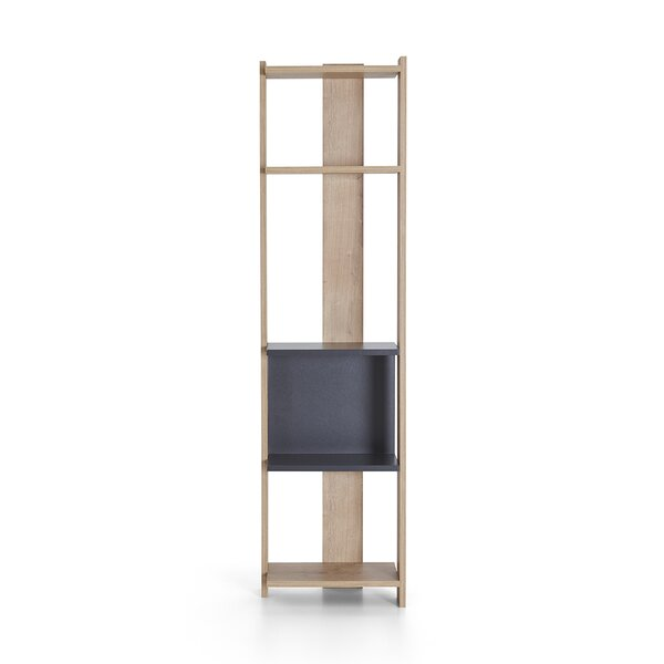 Futral Geometric Bookcase By Wrought Studio Reviews