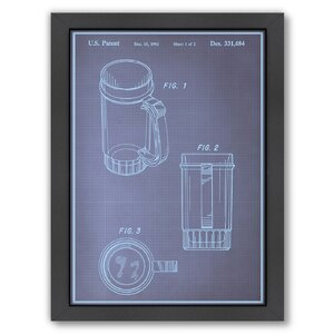 'Beer Stein I' Graphic Art with Frame by East Urban Home