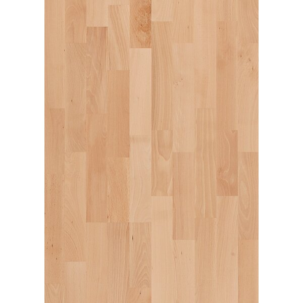 Activity 7-7/8 Engineered Beech Hardwood Flooring in Tan by Kahrs