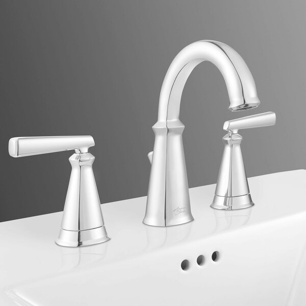 Delancey Widespread Doudle Handle Bathroom Faucet by American Standard