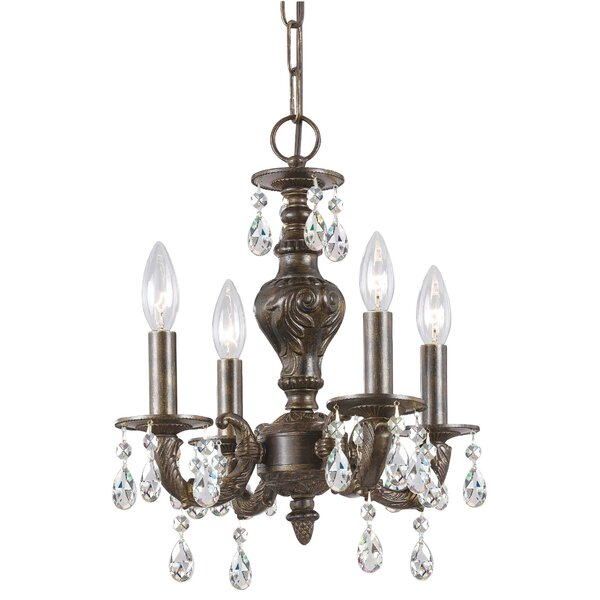 Odessa 4-Light Candle Style Chandelier by Viv + Rae
