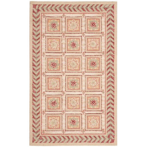 Kendall Beige Rug by August Grove
