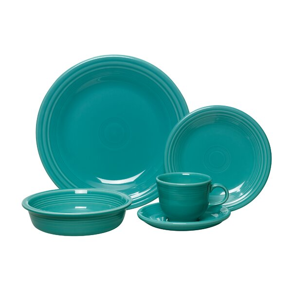 5 Piece Place Setting, Service for 1 by Fiesta