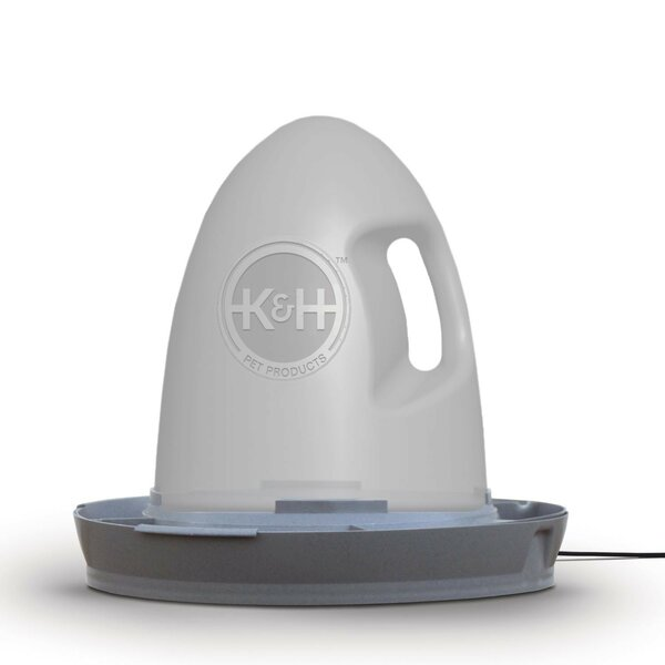 Heated Poultry Waterer by K&H Manufacturing