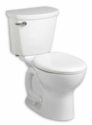 Cadet Pro 1.6 GPF Round Two-Piece Toilet by American Standard