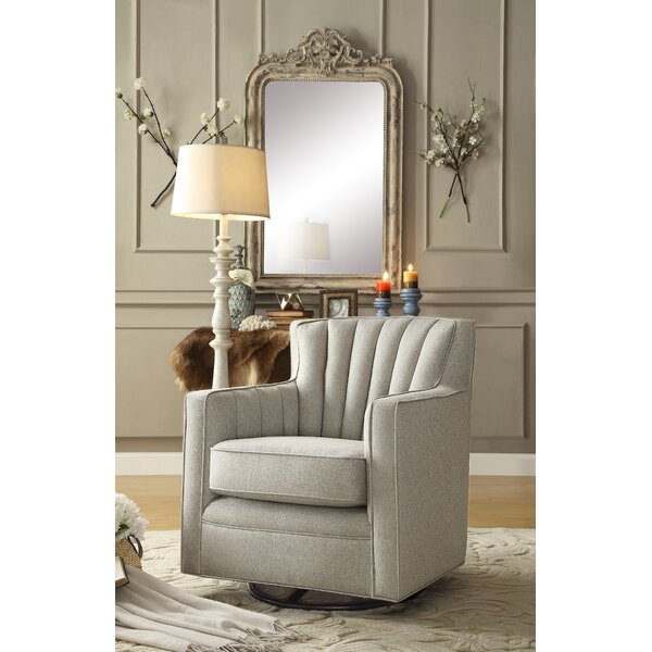 Kirtin Swivel Armchair By Three Posts Great Reviews