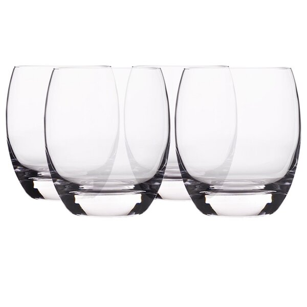 Crescendo Double Old Fashioned Glass (Set of 4) by Luigi Bormioli