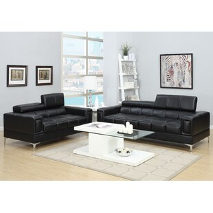 Black Leather Living Room Sets Youu0027ll Love