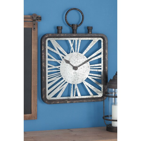Metal Wall Clock by Cole & Grey