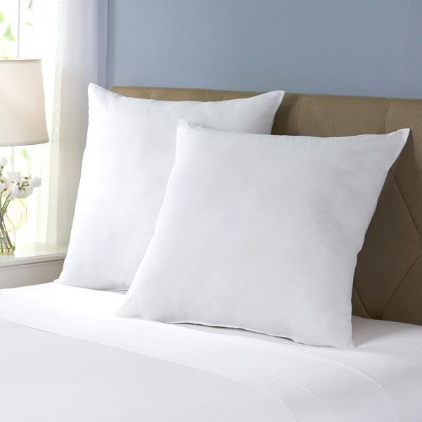 Wayfair Basics Polyester Euro Pillow (Set of 2) by Wayfair Basics™