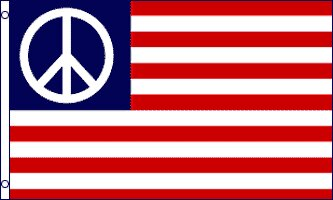 Peace USA Traditional Flag by Flags Importer