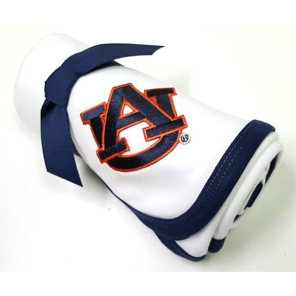 Auburn Tigers Baby Receiving Blanket by Future Tailgater