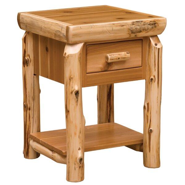 Cedar End Table by Fireside Lodge