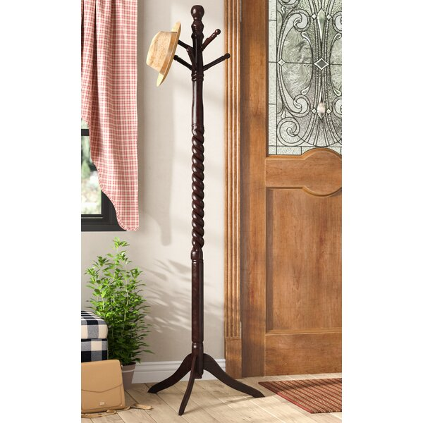 Husson Swivel Coat Rack Stand by August Grove