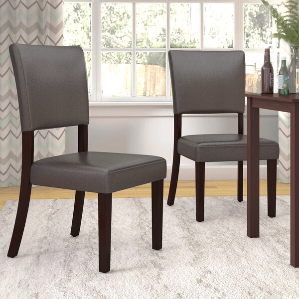 Lower Shockerwick Upholstered Dining Chair (Set of 2) by Latitude Run