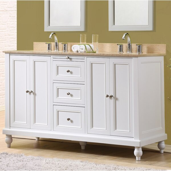 60 Double Vanity Set by J&J International LLC