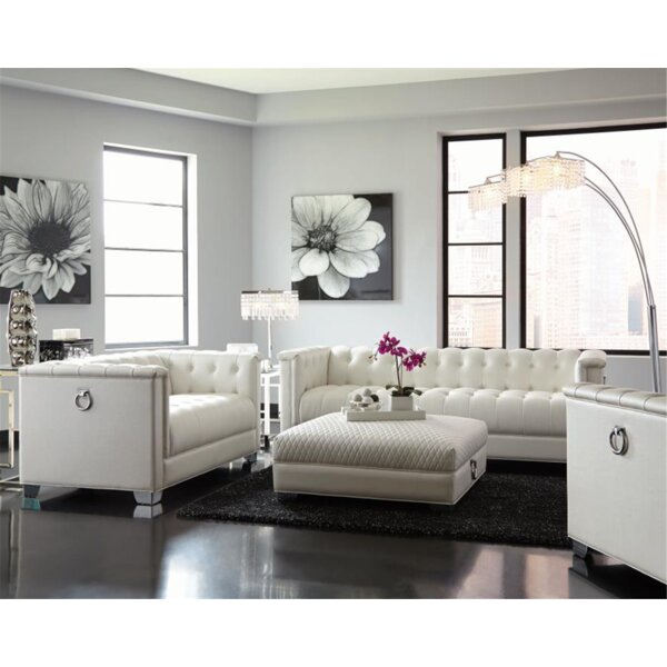 Sumas 4 Piece Living Room Set by House of Hampton