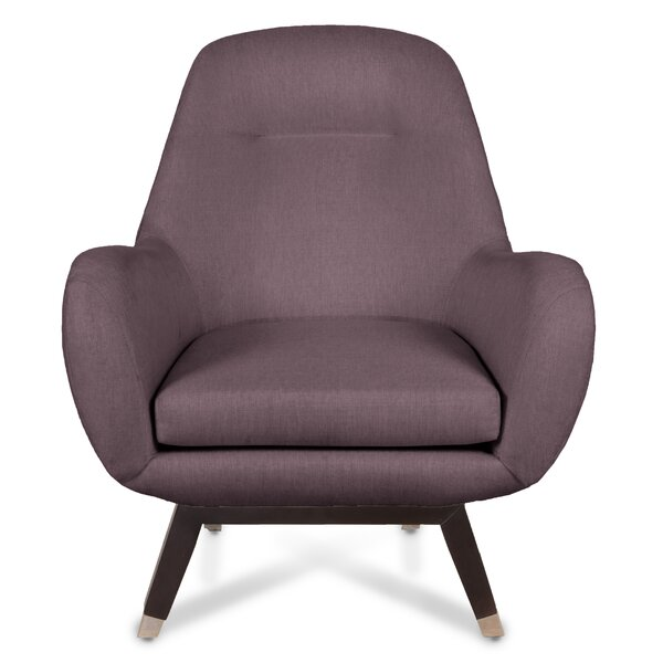 Mid Century Modern Armchair by Loni M Designs