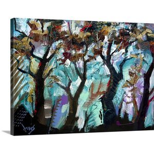 If Trees Could Dance by Jonas Gerard Painting Print on Canvas by Great Big Canvas
