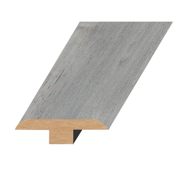 0.47 x 1.81 x 94.49 Oak T-Molding in Ultra Gray by Concept One Accessories