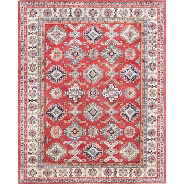 Super Kazak Hand-Knotted Area Rug by Pasargad