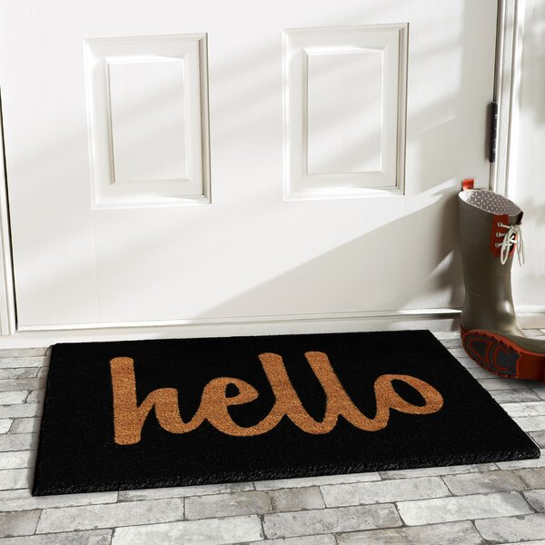 Mcinerney Hello Doormat by Mercury Row