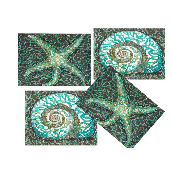Seashell Placemat (Set of 4) by My Island