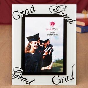 Fabulous Graduation Glass Picture Frame
