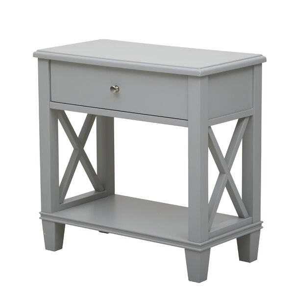 Flintridge End Table With Storage By Beachcrest Home