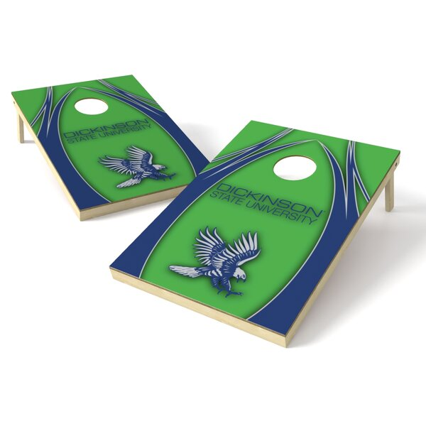 Dickinson State Cornhole Board (Set of 2) by Tailgate Toss