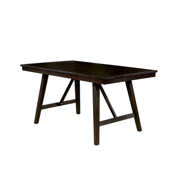 Cael Solid Wood Dining Table by Gracie Oaks Gracie Oaks