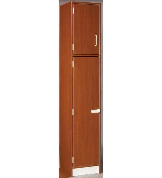 2 Tier 1 Wide School Locker by Stevens ID Systems