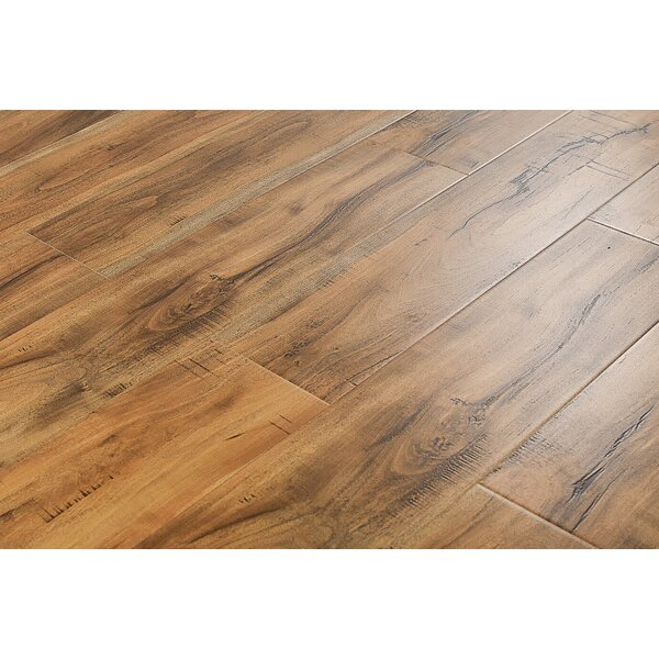 Adonis 6 x 48 x 12mm Jatoba Laminate Flooring in Smokey Tan by Serradon