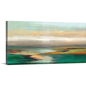 Mondrian Trees by PI Studio Painting Print on Wrapped Canvas by Great Big Canvas