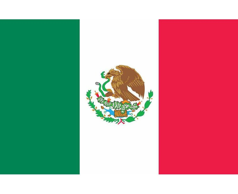 U S Flag Store Mexico World Nylon 36 X 60 In House Flag Wayfair